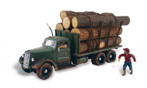 WAS5553 HO Scale Tim Burr Logging